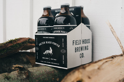 field house brewing branding