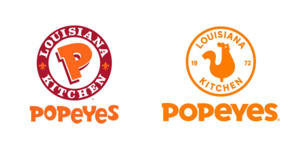 Popeyes logo redesign 2020