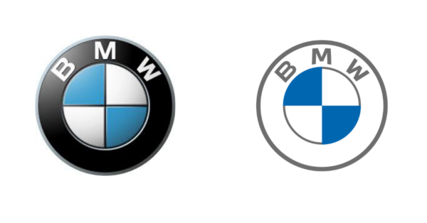 bmw logo redesign