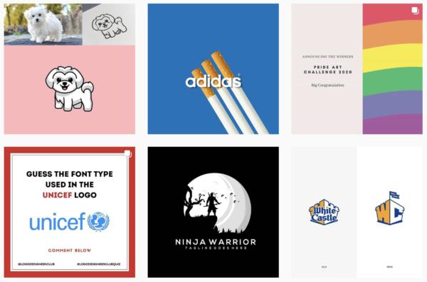 logo designers club instagram