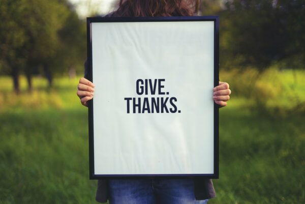 be thankful for your customer referrals