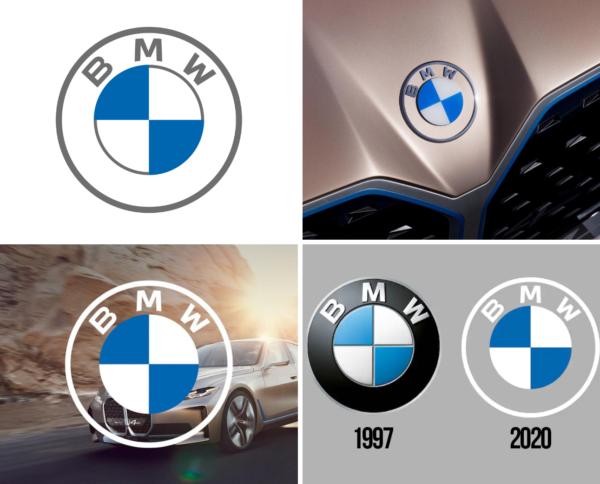 BMW new circle logo