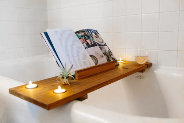 DIY bath caddy