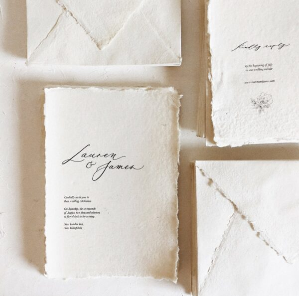 handmade wedding stationery online