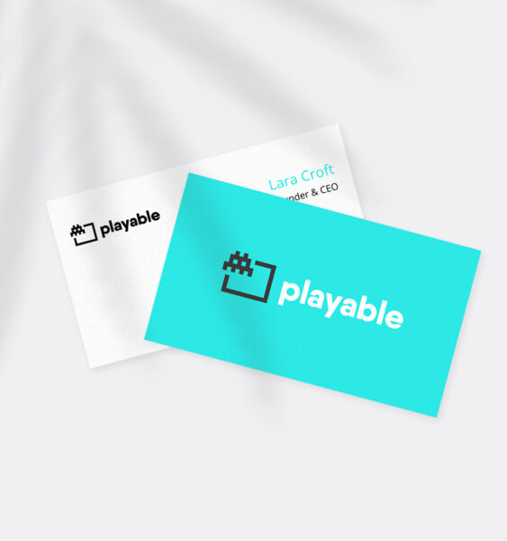 Playable Business Cards