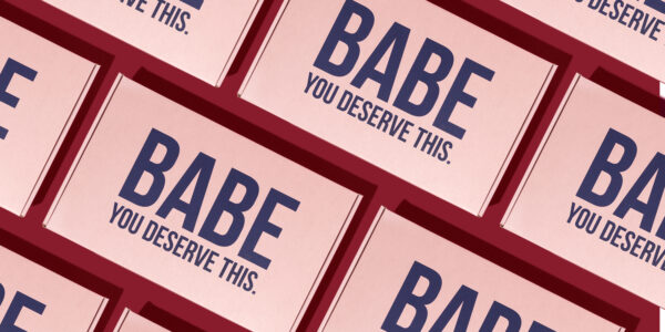 babe wine packaging