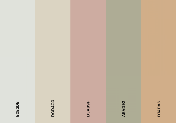 earthy aesthetic color palete