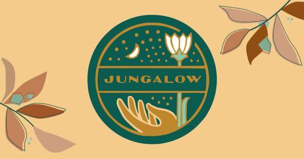 jungalow blog aesthetic logo