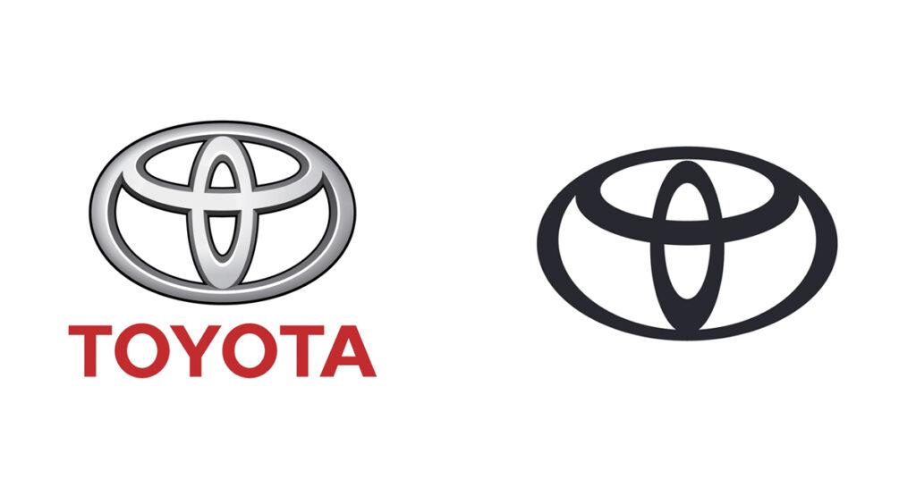 Toyota 2020 logo refresh