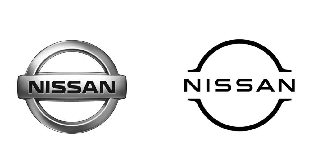 Nissan logo redesign 2020