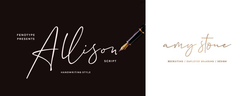 Allison top font of 2020