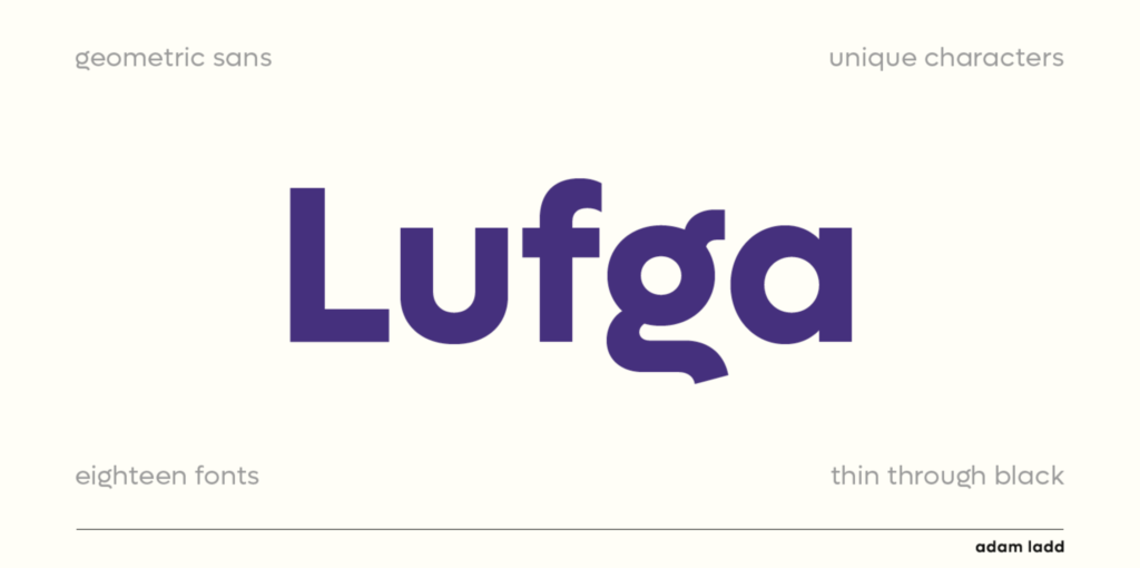 lufga font