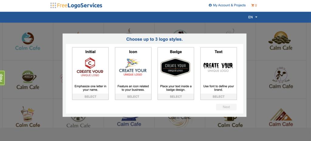 Free logo services online logo maker