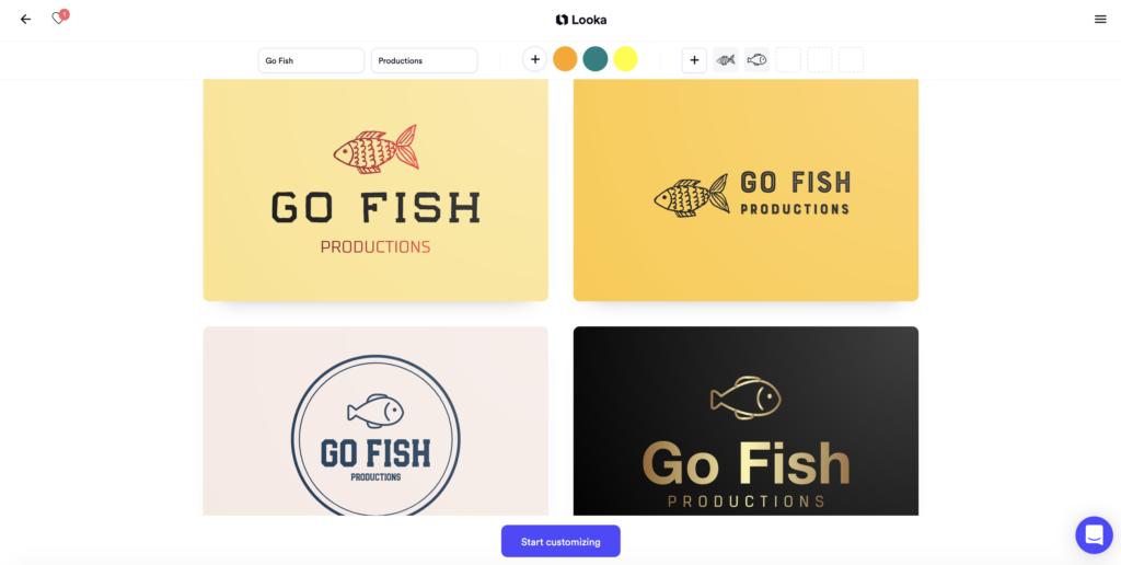 Looka best online logo maker
