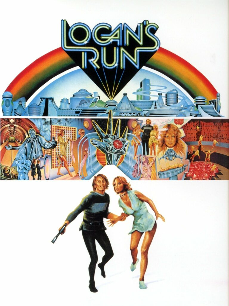 logan's run 1970s logo