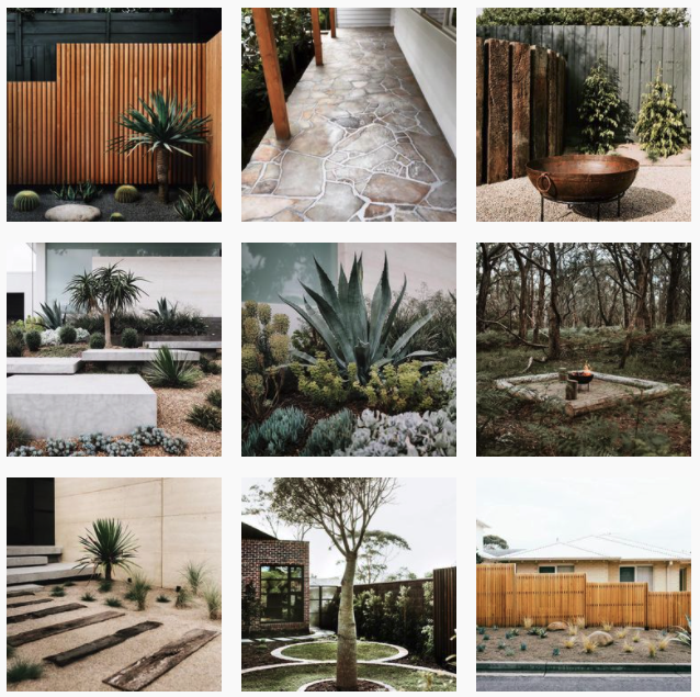 landscaping social media example