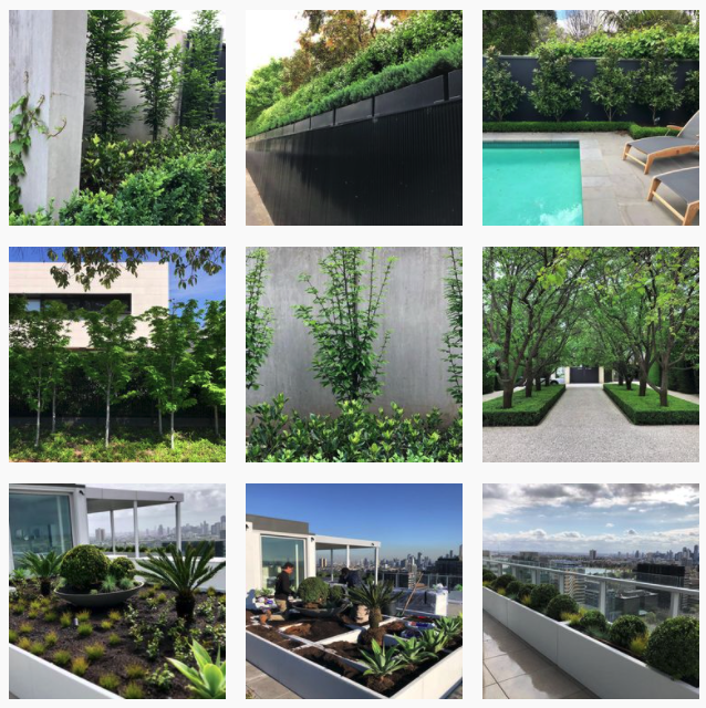 landscaping social media examples
