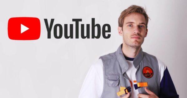 Youtube streamer pewdiepie