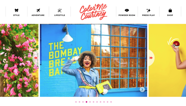 Color me courtney blog name idea