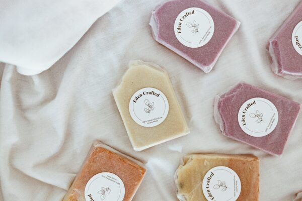 crafting handmade soap