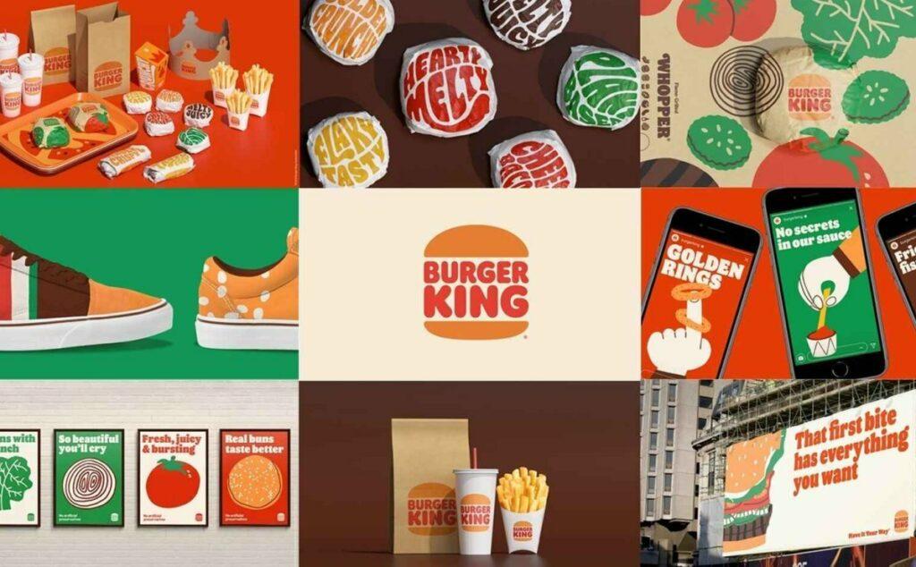 Burger king rebrand 2021