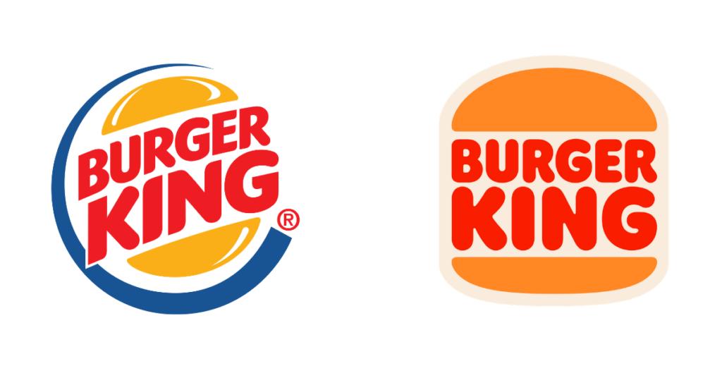 Burger King 2021 rebrand