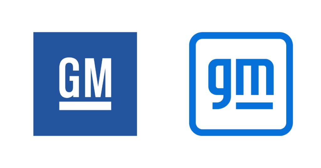 General motors logo redesign 2021