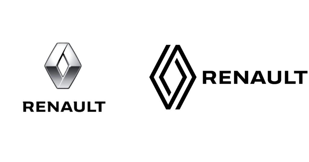 Renault 2021 logo redesign