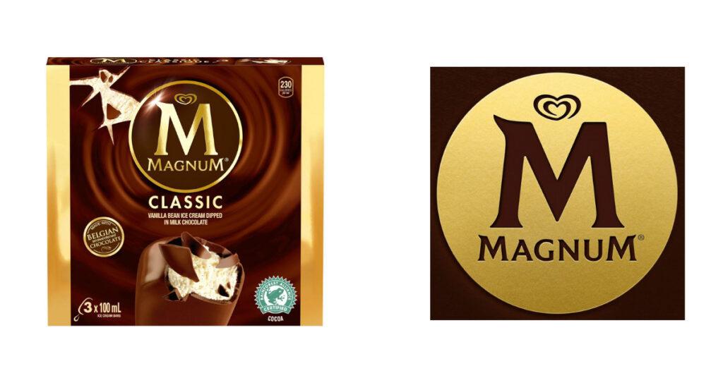 Magnum ice cream new logo