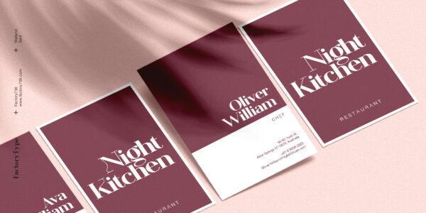 welland modern font