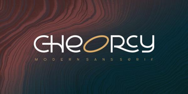 cheorcy modern font 2021