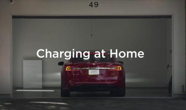 tesla car advertising