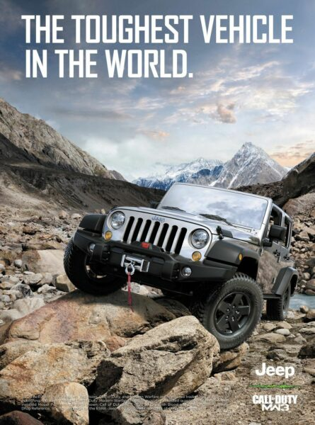 jeep brand personality advertisement