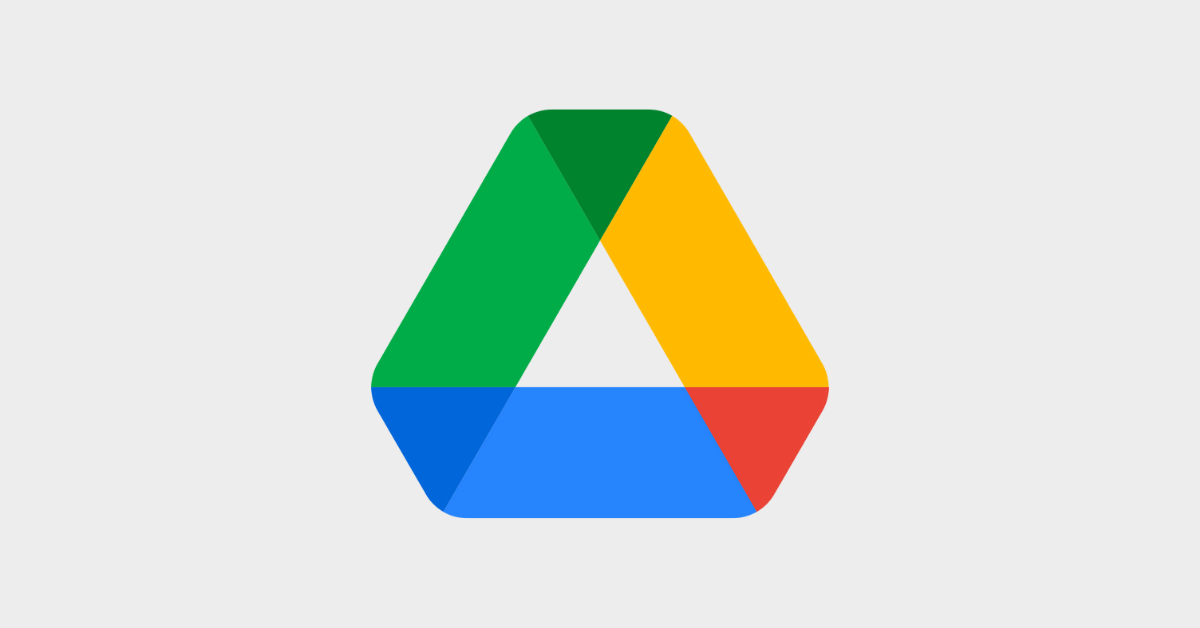 Google drive triangle logo