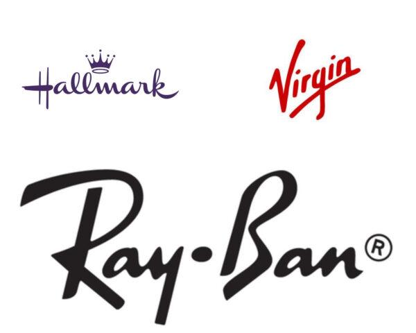 cursive logo font examples