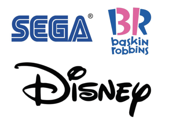 display logo font examples