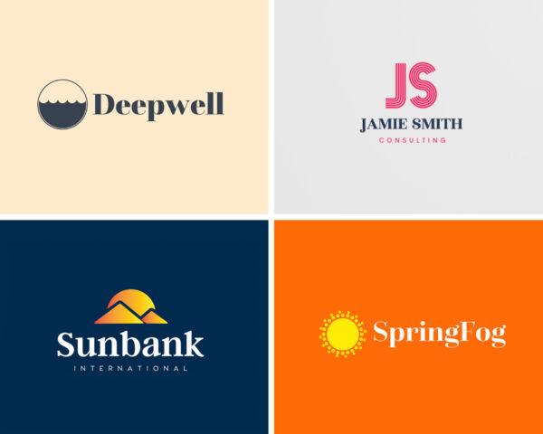 serif logo font examples