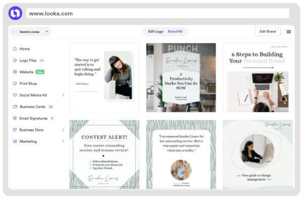 consulting instagram post templates