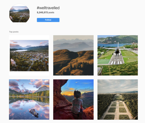 instagram branded hashtags example